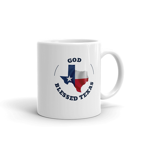 God Blessed Texas Mug