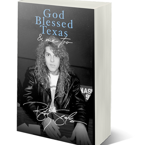 God Blessed Texas & Me Too (Autographed)