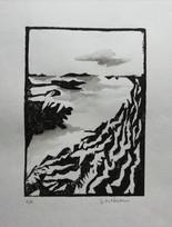 gravure sur bois.10/14cm