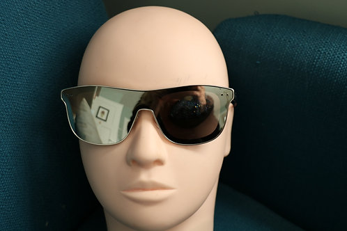 Dolce & Gabbana Silver Frame Sunglasses