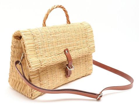 Toino Abel Portuguese Designer Straw Handbag