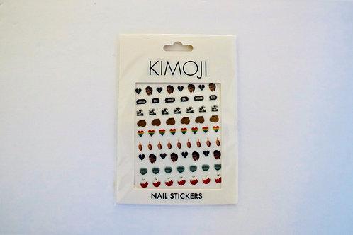 KKW Kimoji Nail Stickers