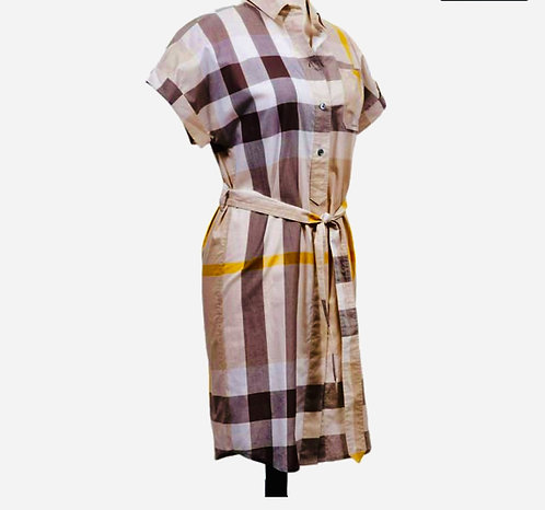 Burberry Brit - Checked Shirt Dress- NEW w/tags