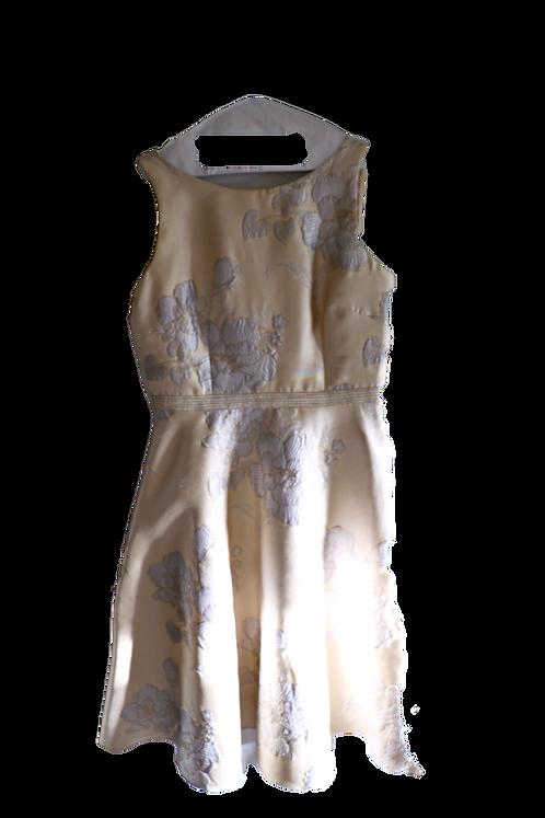 Adriana Papell Brocade Dress