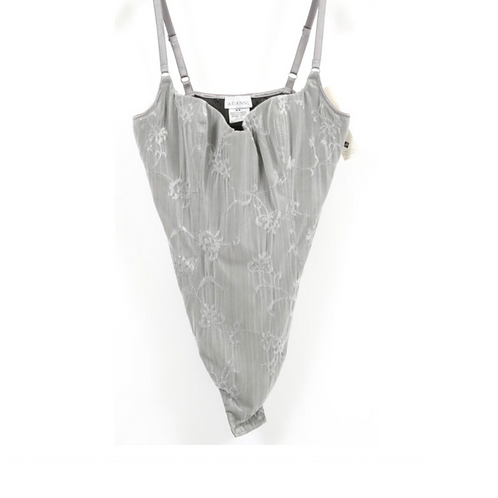 Arianne Gray Floral Bodysuit
