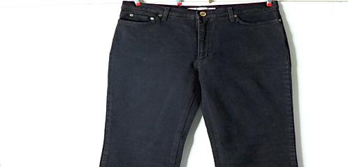 Laura Bagiotti Black Bootcut Jeans