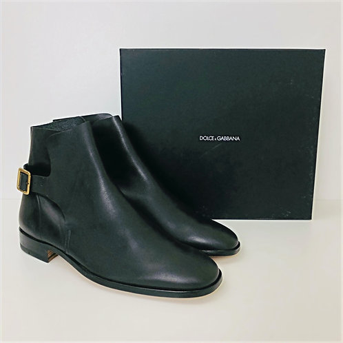 Men's Dolce & Gabbana Leather Boots Shoes US 10