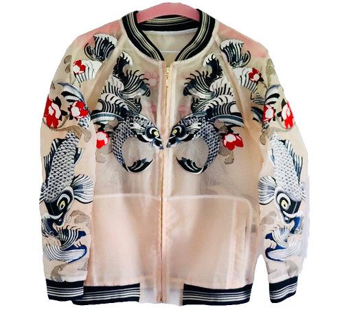 Asian Inspired Bomber Jacket