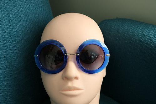 Dolce & Gabbana Blue Lucite Sunglasses