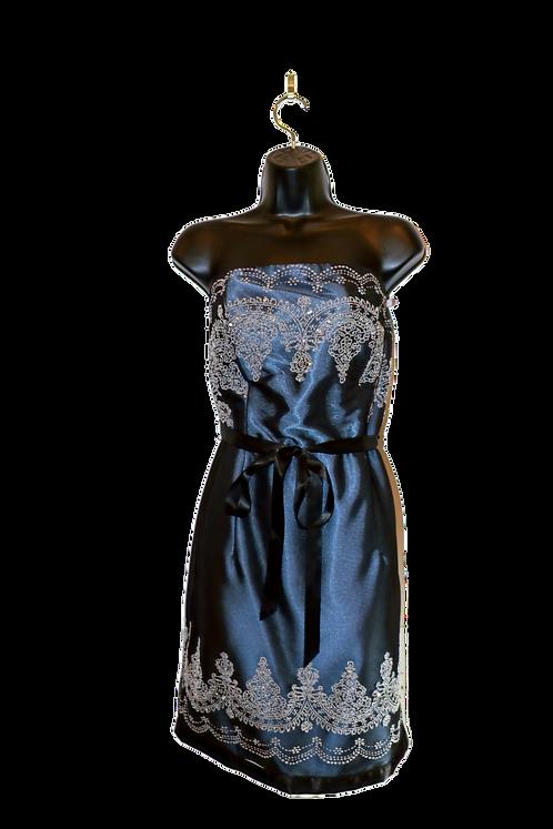 Scott McClintock Blue Sequin Dress