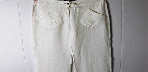 Pennyblack Cream Linen pants- US 8/UK10
