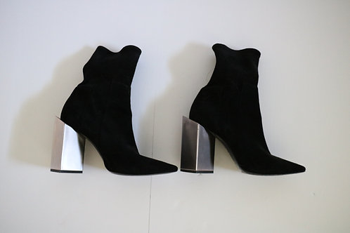 Pierre Hardy Black Suede Boots