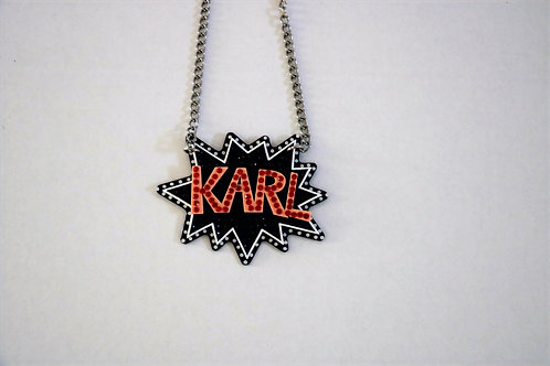 "Karl Lagerfeld ""Karl""Necklace"