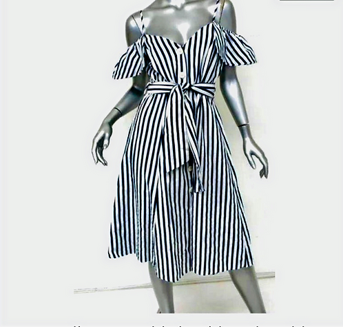 Zara Collection Striped Dress
