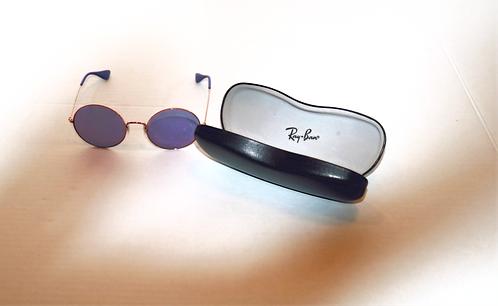 RayBan Retro Blue Sunglasses