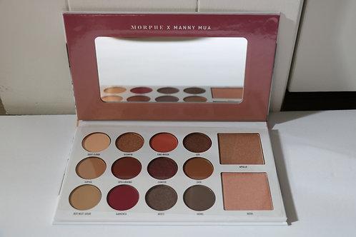 Morphe X Manny MUA eyeshadow palette