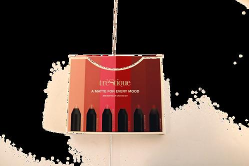 tre'Stique Mini Matte Lip Crayon set