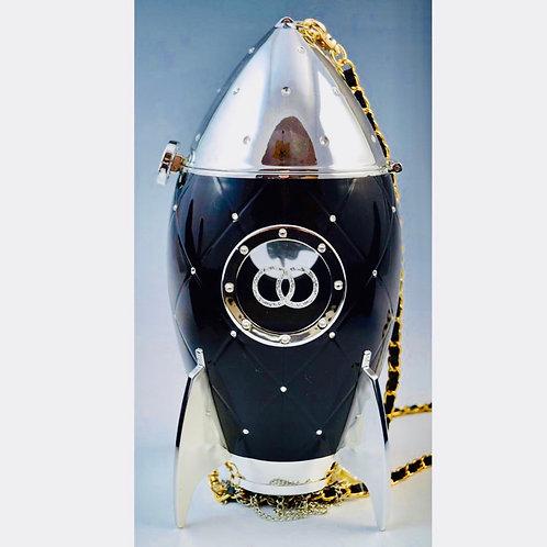 Karl Lagerfeld X Chanel inspired Rocket Ship