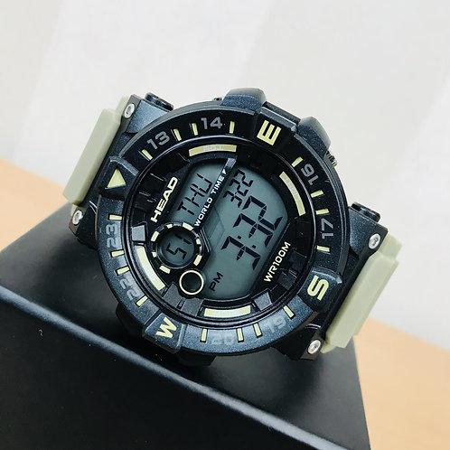 HEAD Men's World Timer Multifunction Watch