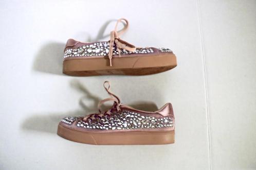 Aldo Rose gold Gem Sneakers