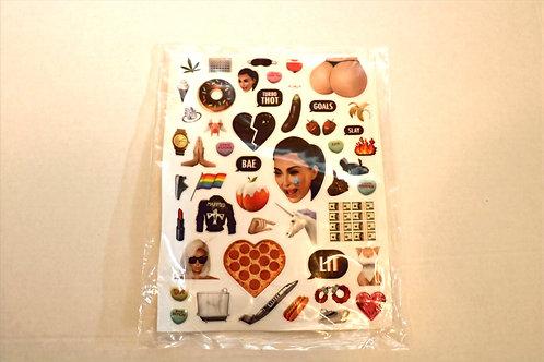 KKW Kimoji Stickers