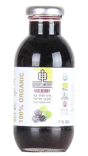 """מיץ תות עץ טבעי אורגני 300מ""""ל"""