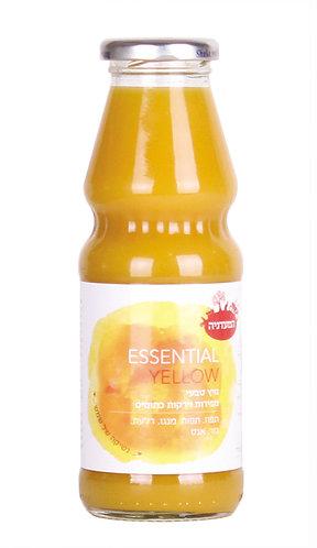 מיץ טבעי מפירות וירקות כתומים