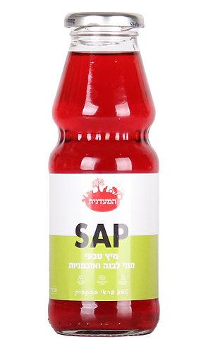 מיץ טבעי ממי לבנה ואוכמניות