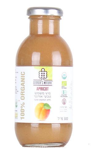 """מיץ משמש טבעי אורגני 300 מ""""ל"""