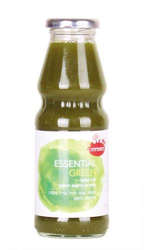 מיץ טבעי מפירות וירקות ירוקים