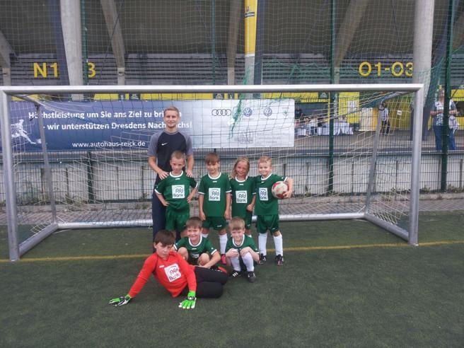 F-Jugend startet in den Spielbetrieb