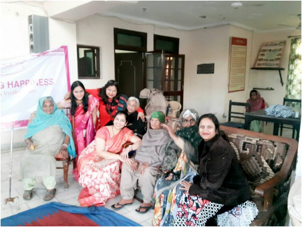 Spreading Happiness(Old Age) Hisar4