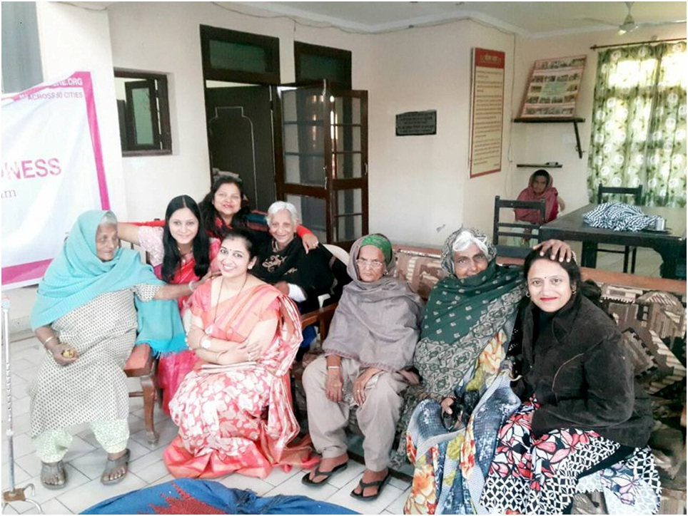 Spreading Happiness(Old Age) Hisar8