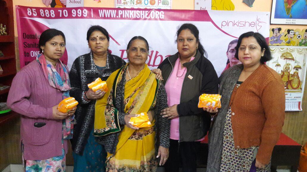 West Delhi Pad Collection Drive 9