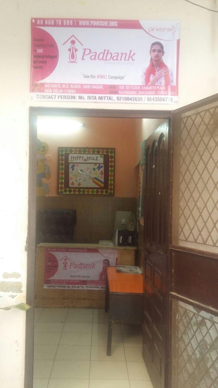 West Delhi Pad Collection Drive 1