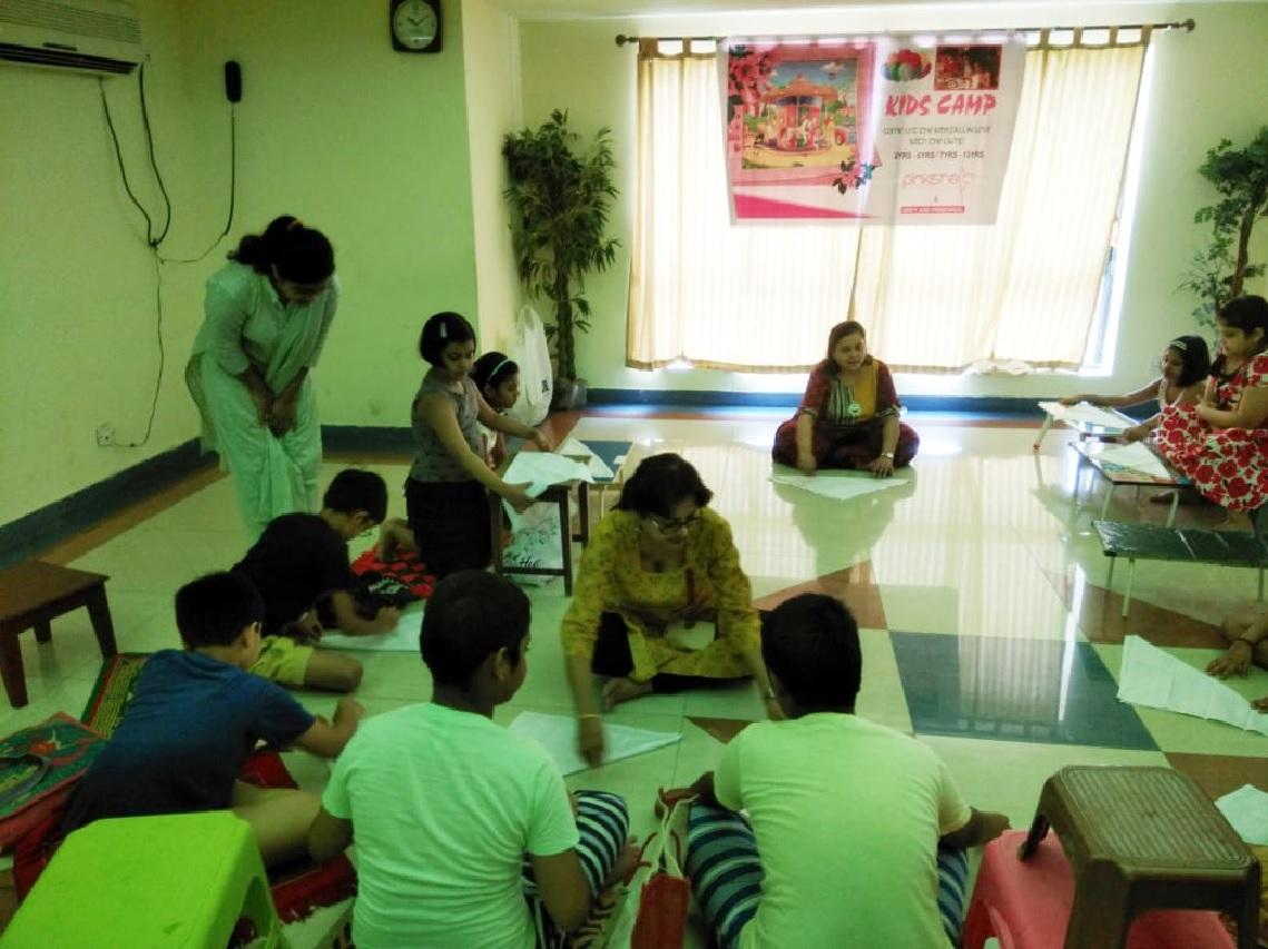 Kids summer camp in Kolkata