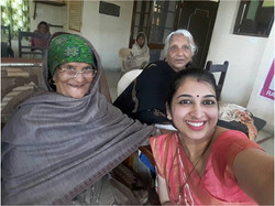 Spreading Happiness(Old Age) Hisar10