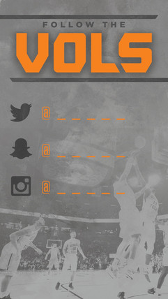 Follow the Vols Template