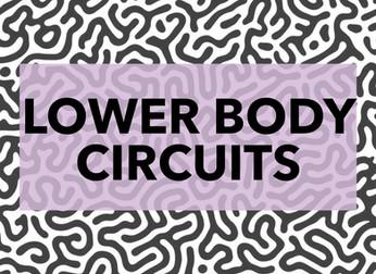 LOWER BODY CIRCUITS