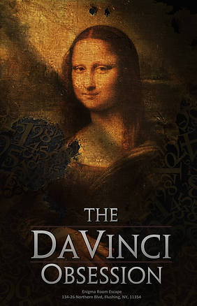 Enigma Room Escape NYC | The Da Vinci Obsession