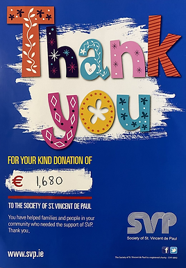 Thank You From The SVP