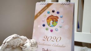 【カレンダー デザイン】バンコクの天然石ショップ 『Pachamama -パチャママ-』さま
