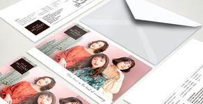 【フライヤー ポスター デザイン】バンコクのヘアサロン『AKI ENDO』さま
