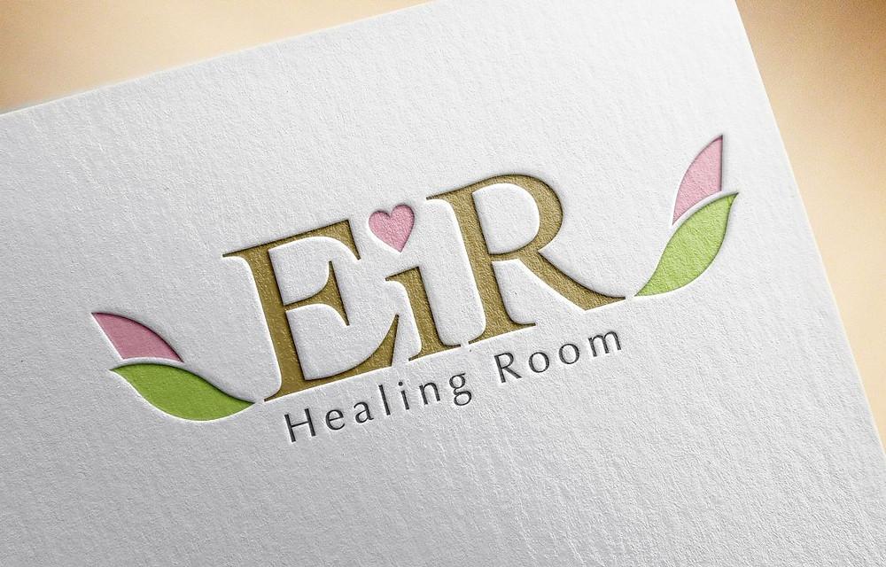 京都で活動されいるヒーリングルーム『EiR -エイル-』さまのロゴデザイン
