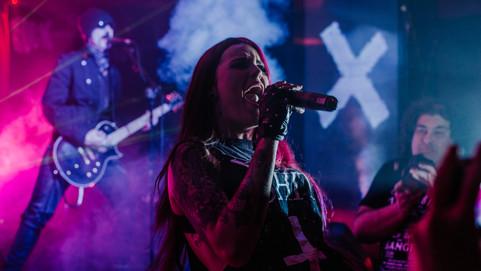 Megara en la sala We Rock