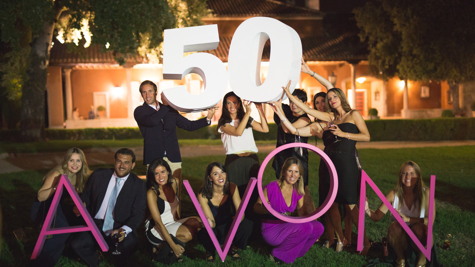 Evento Avon 50 años