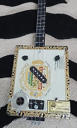 Cigar Box Lap Slide Guitar (Bottle Slide)
