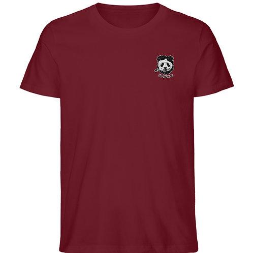 Karulo TShirt Stick Basic I (black)  - Herren Organic Melange Shirt