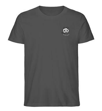 Karulo TShirt Stick Basic I (white)  - Herren Organic Melange Shirt