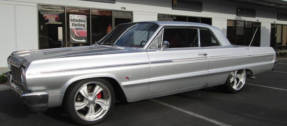 window tint classic cars